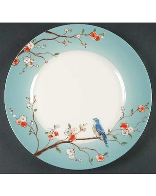 Home Spring Song Dinner Plate Fine China Dinnerware - BirdsFloral BranchesAqua  sc 1 st  Better Homes and Gardens & Check Out These Bargains on Home Spring Song Dinner Plate Fine ...