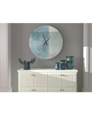 Special Prices On Well Planned Frisky Abstract Metal Wall Clock Ebern Designs Size Medium