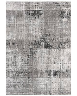 "Williston Forge Rutledge Gray Area Rug X112843560 Rug Size: Rectangle 5'3"" x 7'6"""