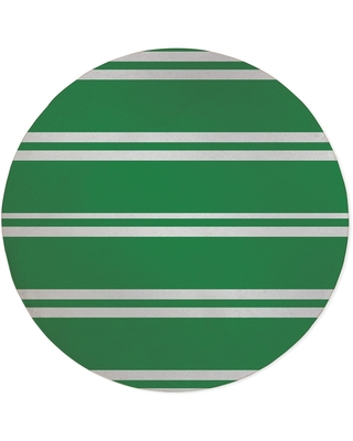 RYAN STRIPES GREEN Area Rug By Kavka Designs (3' x 5' - N/A)