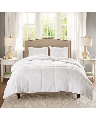 Sleep Philosophy Copper Infused Down Alternative Midweight Down Alternative Hypoallergenic Comforter, One Size , White