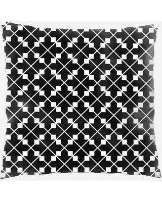 East Urban Home Abstract Throw Pillow W000130282 Location: Indoor