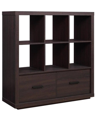 Better Homes & Gardens Steele 6 Cube Storage Room Organizer with Drawers, Multiple Finishes