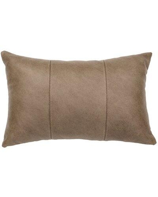 Don T Miss Sales On Millwood Pines Robstown Lumbar Pillow Polyester Polyfill Leather Suede Size 12x18 Wayfair Wd80227fb