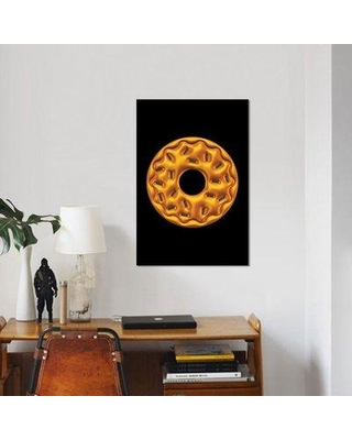 "East Urban Home 'Donut' Graphic Art Print on Canvas ESUH5767 Size: 40"" H x 26"" W x 1.5"" D"