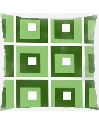 Rug Tycoon Design Throw Pillow PW-design-1010 Color: Green