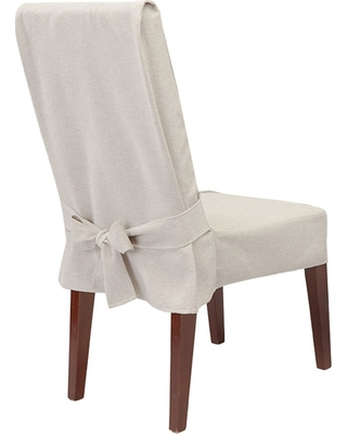 Sure Fit Farmhouse Basketweave Dining Room Chair Slipcover Oatmeal - Sure  Fit from Target | BHG.com Shop