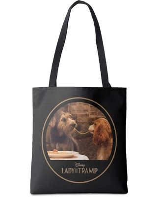 Lady and the Tramp Tote Bag Customizable Official shopDisney