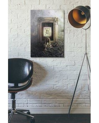 """East Urban Home 'Shrink' Graphic Art Print on Wrapped Canvas ETHF3881 Size: 60"""" H x 40"""" W"""