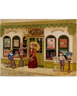 """Winston Porter 'At the Dentist' Acrylic Painting Print on Wrapped Canvas WNPO4968 Size: 35"""" H x 47"""" W x 2"""" D"""