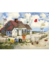 Buffalo Games - Charles Wysocki - Root Beer Break At the Butterfield's - 1000 Piece Jigsaw Puzzle