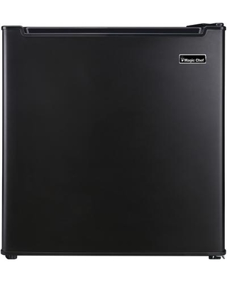 """MCAR170BE 18"""" Mini Refrigerator with 1.7 cu. ft. Capacity Compressor Cooling Wire Shelf and Recessed Handle in"""