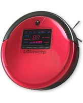 bObsweep bObsweep PetHair Robotic Vacuum Cleaner with Mop Attachment P4727546CH / P4727546RO Color: Rouge
