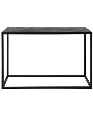 Tyle Collection VH-1010-02 Console Table with Iron Base in Black
