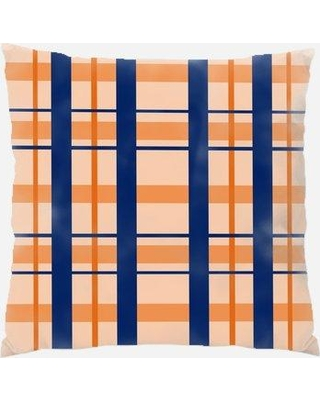 East Urban Home Plaid Throw Pillow W000568633 Location: Indoor