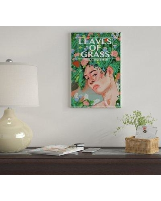 """East Urban Home 'Leaves Of Grass By Diana Polanco' By Creative Action Network Graphic Art Print on Wrapped Canvas EUME3248 Size: 26"""" H x 18"""" W x 1.5"""" D"""