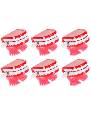 Wind-Up Chatter Teeth With Feet