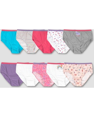 6ad0918324dfc New Savings on Hanes Girls  10pk Cotton Classic Briefs - Colors Vary ...
