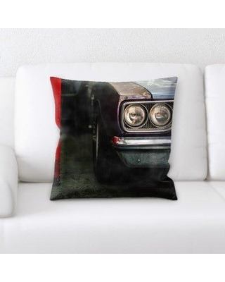 Latitude Run Margr Old and Abandoned Throw Pillow BF135296