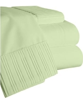 Home Sweet Home Dreams Chamberlain London Microfiber Sheet Set 6783 Color: Sage, Size: Full