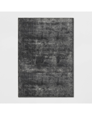 7'X10' Hayes Woven Cut Pile Poly Rug Gray - Project 62 , Size: 7'X10'