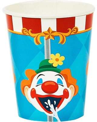 8ct Carnival Clown Cup
