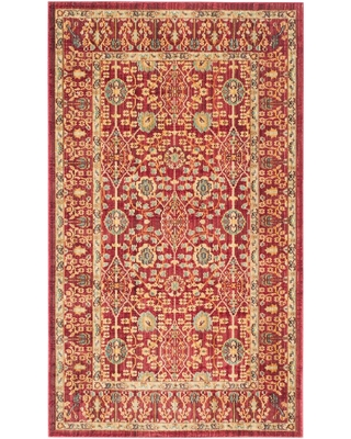 Safavieh Valencia Red 3 ft. x 5 ft. Area Rug