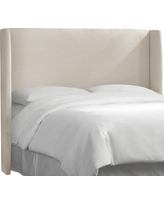 King Wingback Headboard - Linen Talc - Threshold