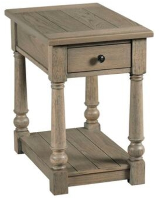 Outland-Hamilton Collection 718-916 Chairside Table in Gray