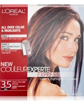 L'Oréal Paris Couleur Experte Hair Color + Hair Highlights, Dark Mahogany Brown - Chocolate Mousse