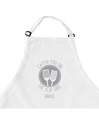 Personalized Chef Expressions Apron- White