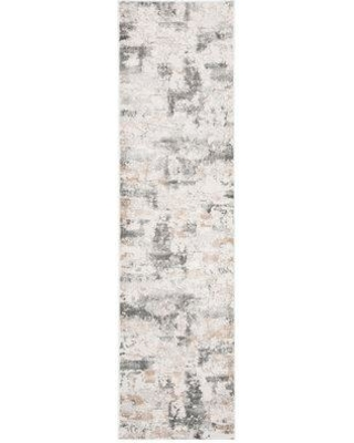 Williston Forge Electa Beige/Charcoal Area Rug W000704316 Rug Size: Rectangle 4' x 6'