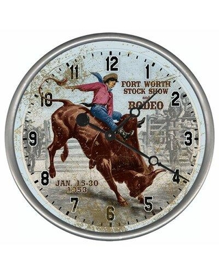 Red Horse Arts Personalized Wall Clock CLPP-7013