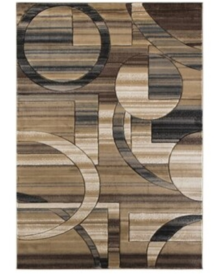 Special Prices On Adonia Abstract Brown Beige Area Rug Wrought Studio Rug Size Rectangle 5 X 8