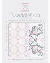 Swaddle Designs Penelope Swaddle Blanket in Pink SD-358P
