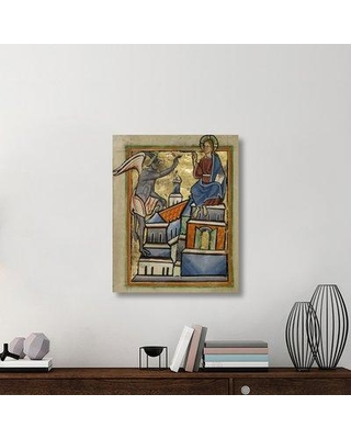 """East Urban Home 'The Second Temptation' Acrylic Painting Print on Canvas ETUC6897 Size: 35"""" H x 28"""" W x 1.5"""" D"""