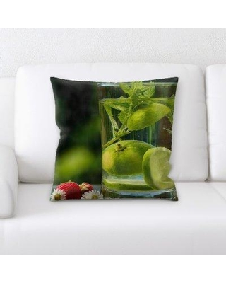 East Urban Home Water Throw Pillow W000947422