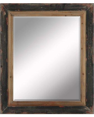Find Deals On Millwood Pines Paola Accent Mirror Wood In Black Size 38 H X 32 W X 1 D Wayfair A8ffae51a5264856bc42f2363e7f60b5