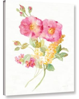 """Ophelia & Co. 'Midsummer II' Painting Print on Wrapped Canvas OPCO3103 Size: 48"""" H x 36"""" W x 2"""" D"""