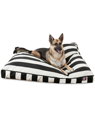 Majestic Pet Products Black Polyester Rectangular Dog Bed (For Extra Large) | 788995504191