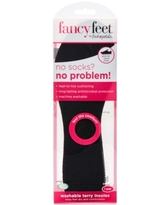 Fancy Feet by Foot Petals Washable Terry Insoles Shoe Inserts Women's Shoes