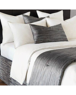 Eastern Accents Pierce Single Reversible Duvet Cover NCX1726 Size: California King Color: Marble