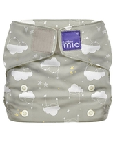 Bambino Mio, Miosolo All-in-One Cloth Diaper, OneSize, Cloud Nine