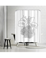 East Urban Home Ikonolexi Lilly Shower Curtain ETHH3605