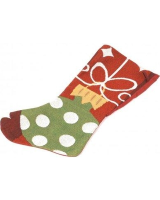 The Holiday Aisle Tapestry Christmas Ornament Stocking THDA4897