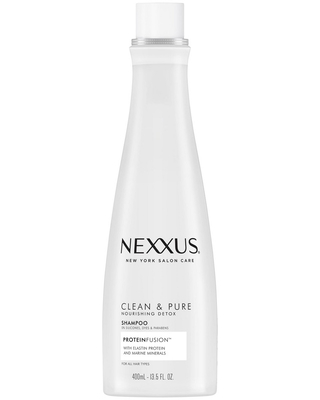 Nexxus Clean and Pure Clarifying Shampoo For Nourished Hair with ProteinFusion - 13.5 fl oz