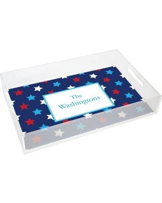 Kelly Hughes Designs Everyday Tabletop Stars Lucite Tray tray987