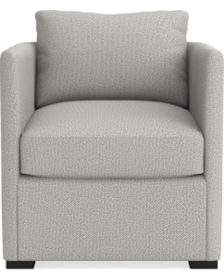 Naples Occasional Chair, Perennials Performance Chenille Weave, Grey