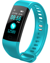 Smart Watch Fitness Tracker Heart Rate Monitor,Gym Sports Tracker Watch, Pedometer Watch with Sleep Monitor, Step Tracker(TURQUOISE)