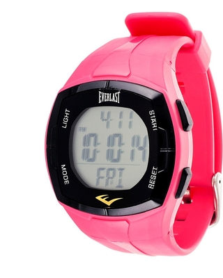 Men's Everlast Heart Rate Monitor Watch with Chest Strap Pink, Men's, Size: Small